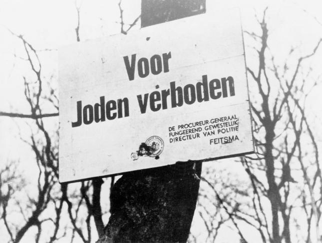Dutch antifascists get Jewish support for blockade of Nazi-exposition