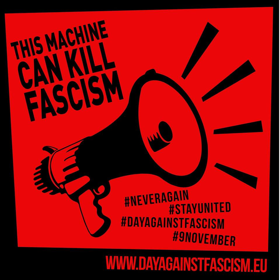 9 November – International Day Against Fascism and Antisemitism 2018